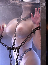 Aria Giovanni gets the Waterbondage treatment!
