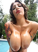 Tremendous Big Breasts of Ricki Raxxx