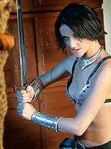 WoW nude naudia medieval fight training