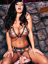 Charley Chase gets down and dirty in Dom Lisa Ann's dungeon!