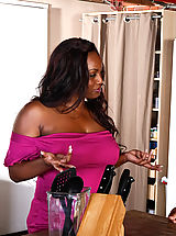 Jada Fire has been watching her neighbor Denis for a while now. Now that the wife is away, it's time she introduce herself... to his cock.